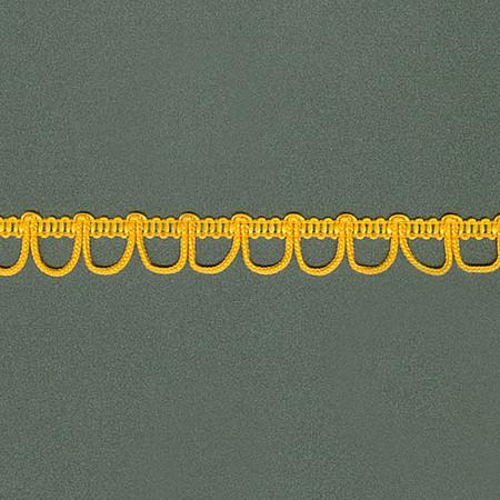 PASSAMANARIA OLHAL 1,3cm AMARELO OURO