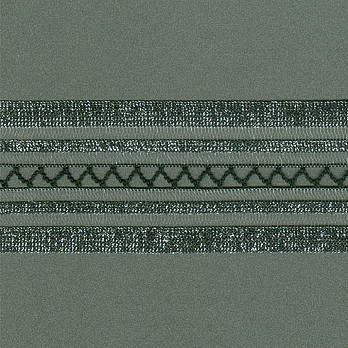 ELASTICO BETINA 4,8cm PRETO/PRATA