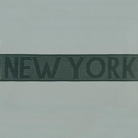 ELASTICO NEW YORK 5,7cm PRETO