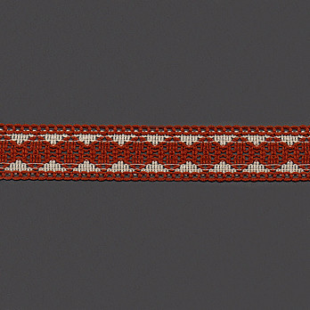 RENDA 3,8cm CONHAQUE/AREIA