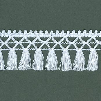 FRANJA ARTESANAL 6,4cm BRANCO
