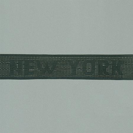 ELASTICO NEW YORK 3,1cm PRETO