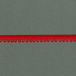 PASSAMANARIA VIVIAN 1cm VERMELHO