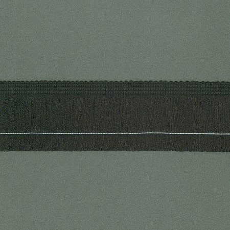 FRANJA ACRÍLICO 5cm PRETO