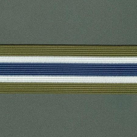 ELASTICO LISTRA 4,1cm VERDE/CHAMPAGNE/AZUL