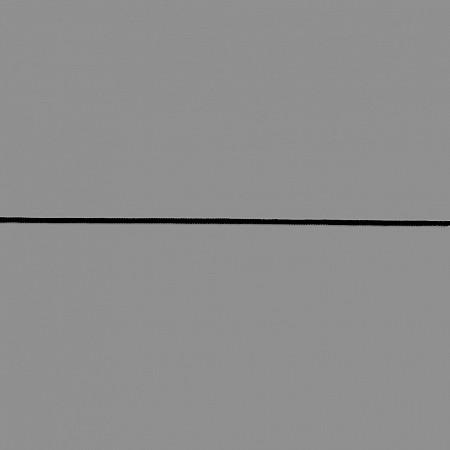 ELÁSTICO ROLIÇO 2mm PRETO