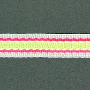 ELASTICO LISTRA 4,4cm NEON