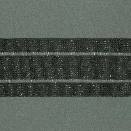 ELASTICO GLOW VAZADO 5cm PRETO/PRETO