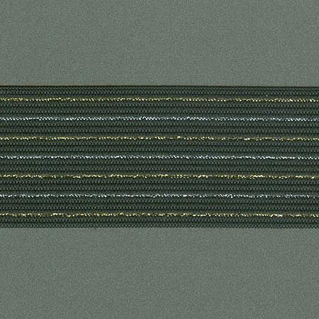 ELASTICO RISCA GIZ 4,9cm PRETO/PRATA/OURO
