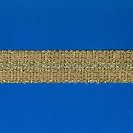 PASSAMANARIA ONDULADA 4,5cm JUTA/LUREX