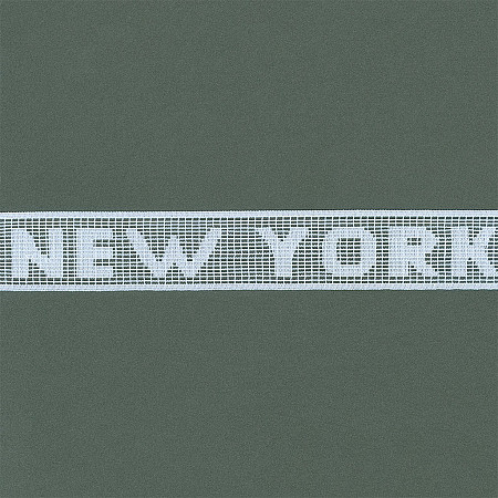 RENDA NEW YORK 3,4cm BRANCO