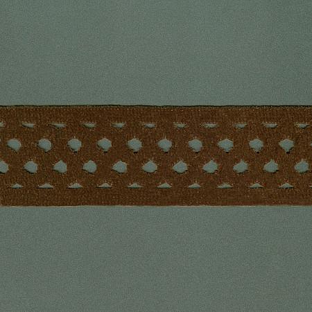 ELASTICO GRADE CHENILLE 5,4cm MARROM