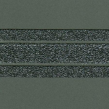 ELASTICO GLOW VAZADO 5cm PRETO/PRATA