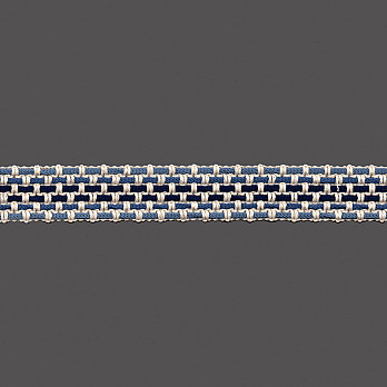 PASSAMANARIA 2,9cm CRU/TONS AZUIS