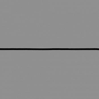 ELÁSTICO EMBUTIR LEVE 4mm PRETO