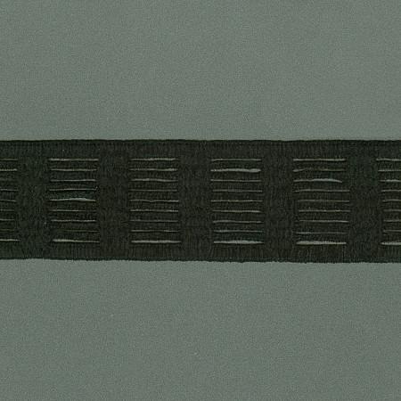 ELASTICO ALEXANDRA CHENILLE 5,2cm PRETO
