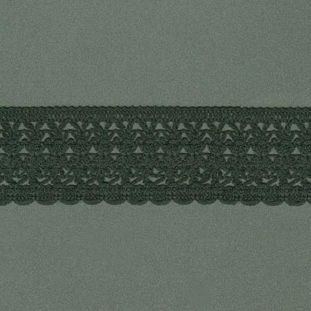 RENDA TRILENIUM 3,7cm PRETO