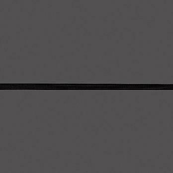 ELÁSTICO EMBUTIR LEVE Nº8 7mm PRETO